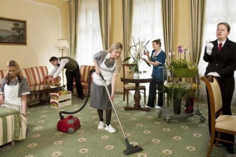 Ежедневная уборка гостиниц