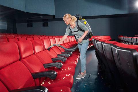 Ежедневная уборка кинотеатров