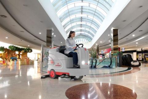 Ежедневная уборка торговых центров