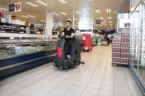 Ежедневная уборка супермаркетов
